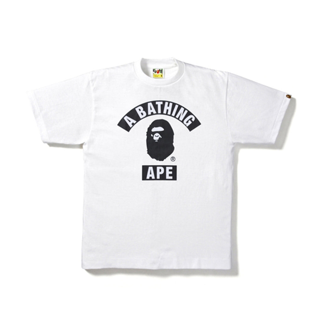 Bape 2019 Summer Bag College Tee - White
