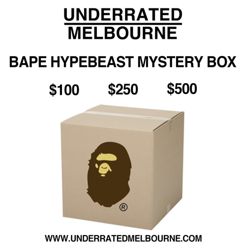 UNDERRATED MELBOURNE BAPE HYPEBEAST MYSTERYBOX