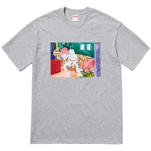 Supreme Bedroom Tee - Grey