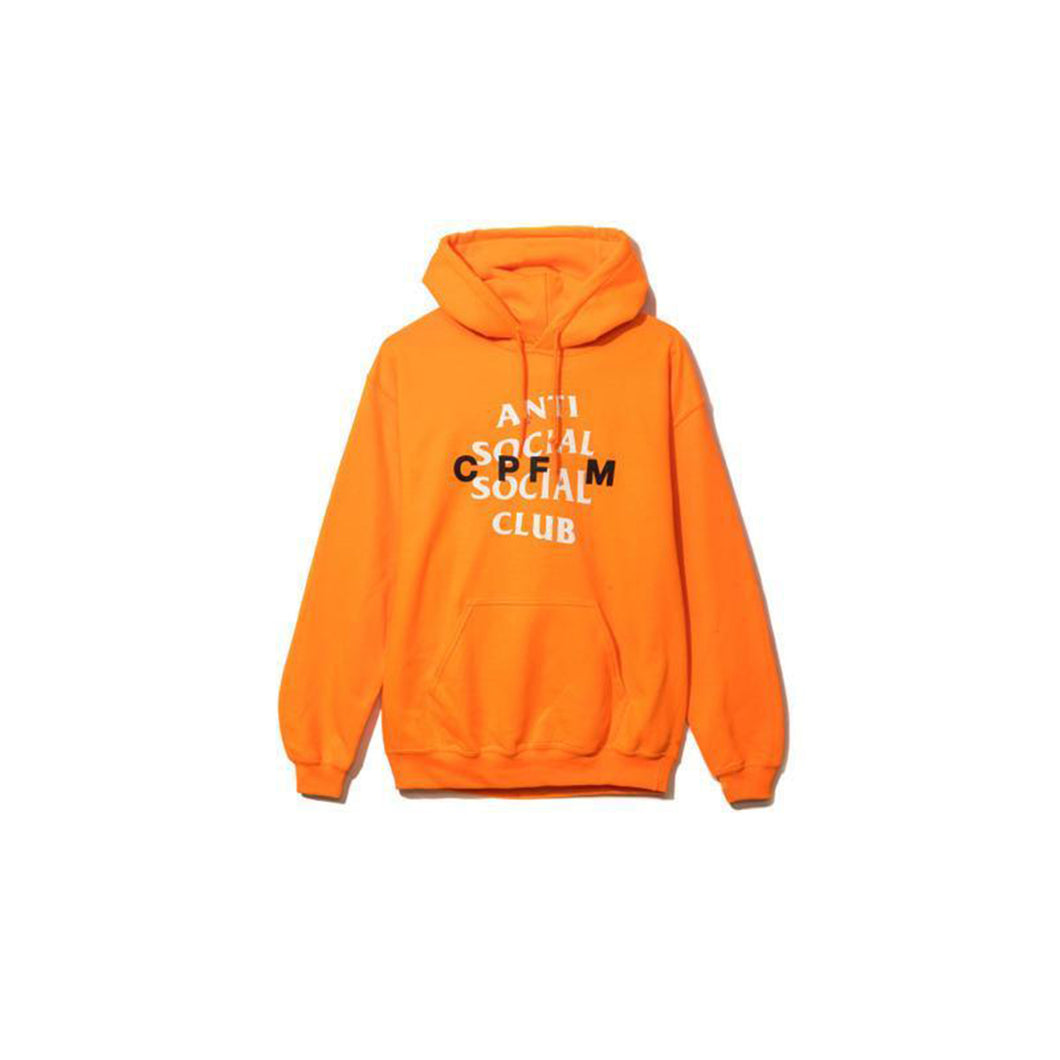 Anti Social Social Club X CPFM Hoodie Orange