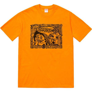 Supreme Faces Tee Orange