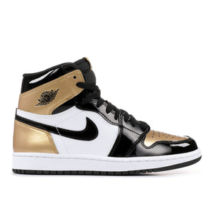 Air Jordan 1 NRG Patent 'Gold Toe'