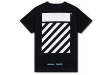 Off-White C/O Virgil Abloh Diag Caravaggio Tee - Black/White - LARGE