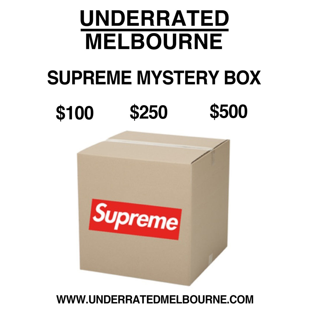UNDERRATED MELBOURNE SUPREME HYPEBEAST MYSTERYBOX