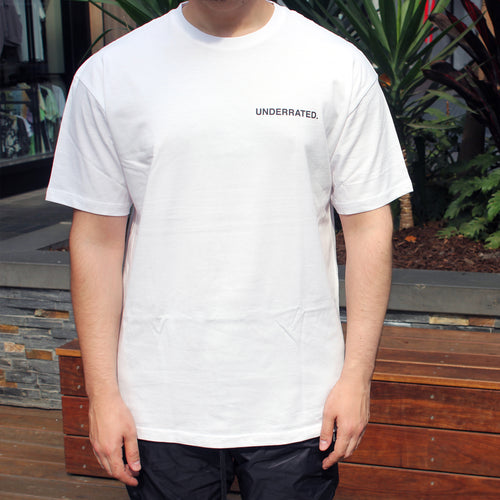 UNDERRATED TEE - WHITE