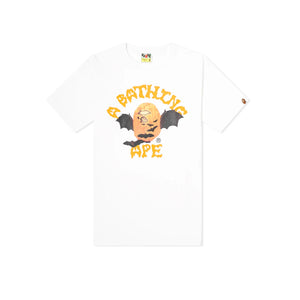 Bape Halloween College Tee - White