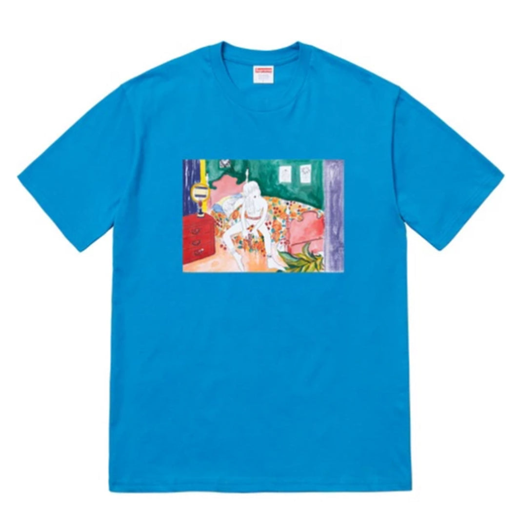 Supreme Bedroom Tee - Blue