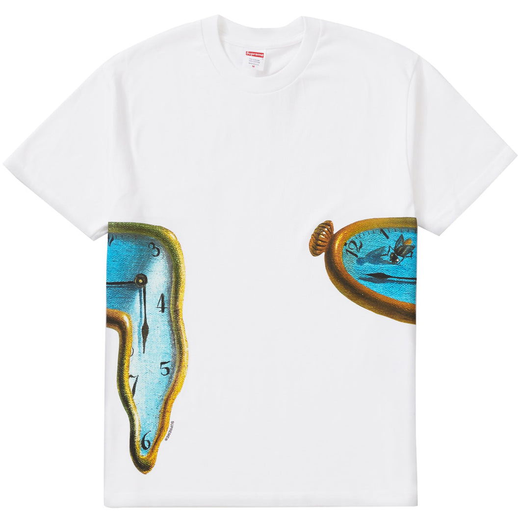 Supreme SS19 The Persistence Of Memory Tee - White