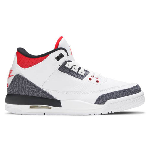 Air Jordan 3 Retro Denim SE 'Fire Red' (2020) GS (Youth)