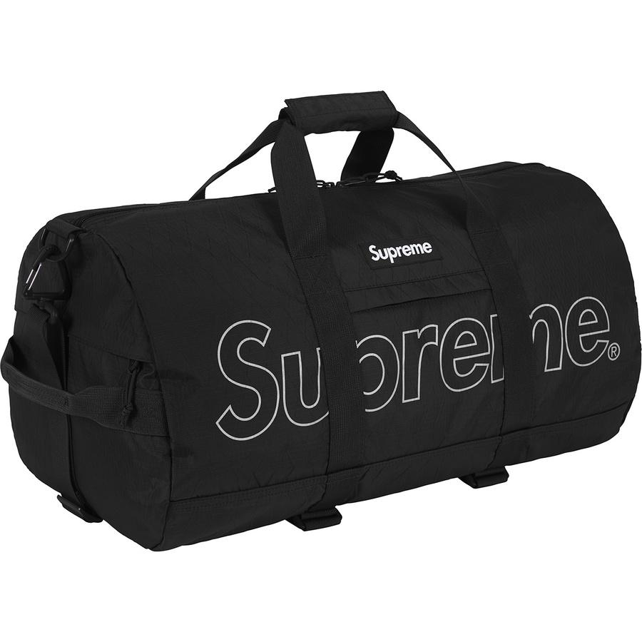 Supreme FW18 Duffel Bag Black