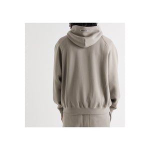 FEAR OF GOD ESSENTIALS 3D Silicon Applique Pullover Hoodie - Charcoal
