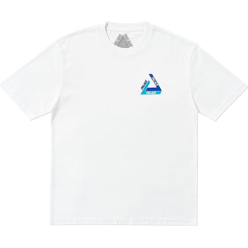 Palace Skateboards Tri-Shadow T-Shirt Blue