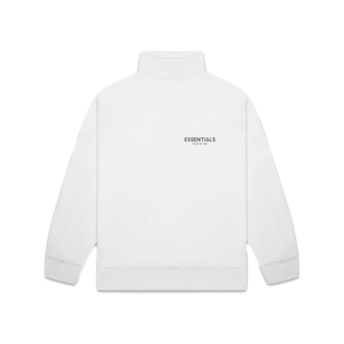 FEAR OF GOD ESSENTIALS Pull-Over Mockneck Sweatshirt - White