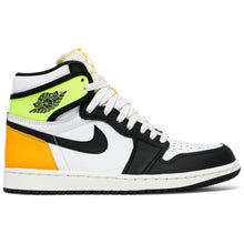 Air Jordan 1 Retro High 'White Black Volt University Gold'