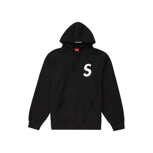 Supreme S Logo Hooded Sweatshirt - Black (SS20)
