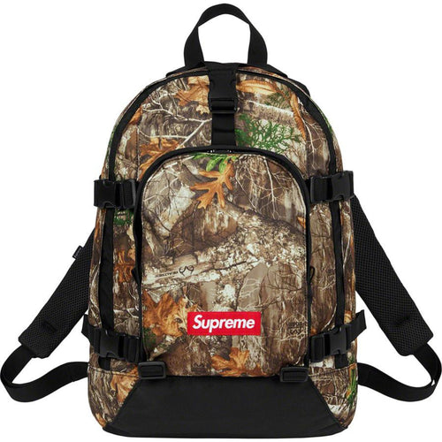 Supreme FW19 Backpack Real Tree Camo