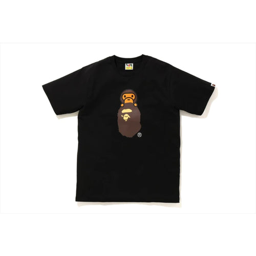 BAPE Family Bag Milo On Apehead T-Shirt - Black