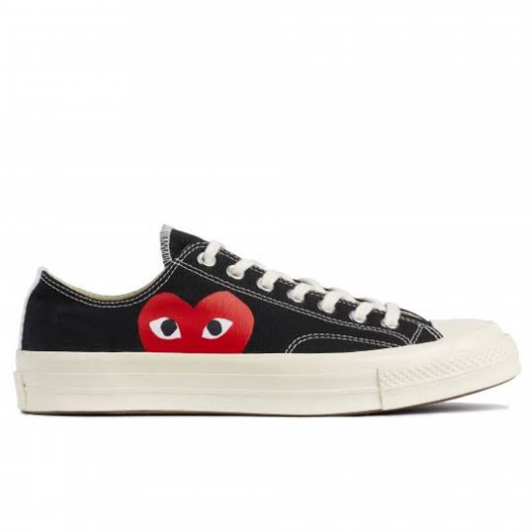 Converse x CDG Play Converse Chuck '70 Low - Black