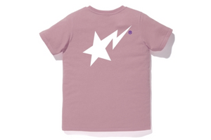 A Bathing Ape Ladies Bapesta T-Shirt Pink