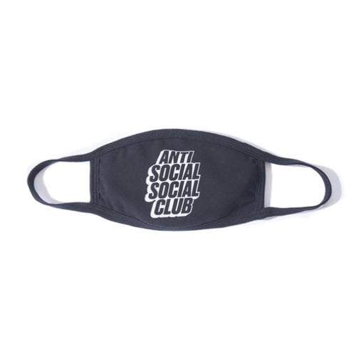 ASSC Block Logo Face Mask - Black