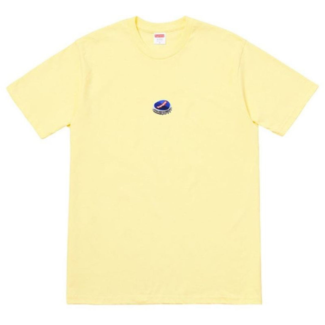 Supreme Bottle Cap Tee - Yellow