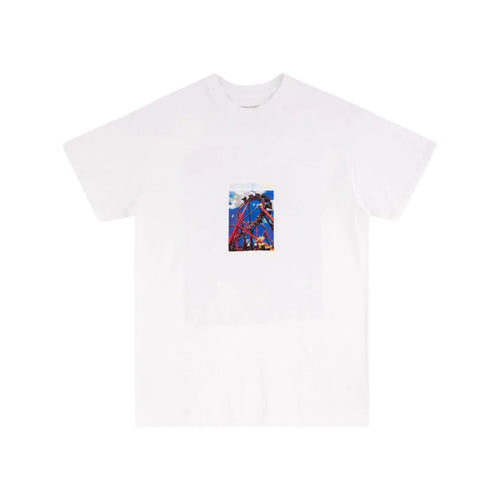 Travis Scott Roller Coaster Tee - White