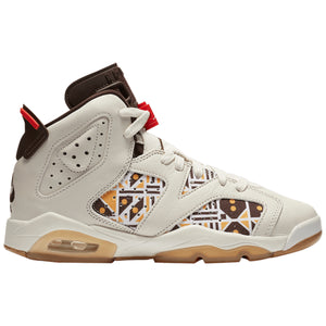 Air Jordan 6 Retro Quai 54 'Sail Brown' (GS)