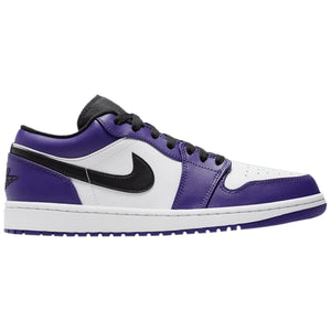 Air Jordan 1 Low 'Court Purple White'
