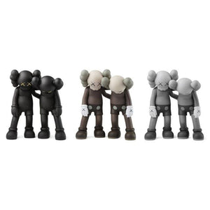 KAWS Along The Way Vinyl Figure - Set of 3 (Black/Grey/Brown)