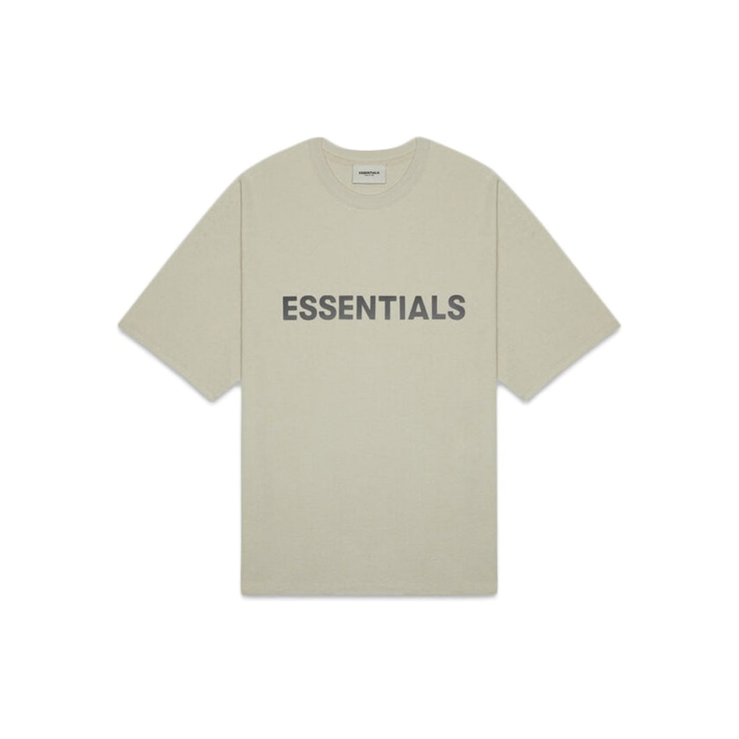 FEAR OF GOD ESSENTIALS 3D Silicon Applique Boxy T-Shirt - Moss