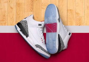 Air Jordan 3 Retro 'Free Throw Line White Cement'