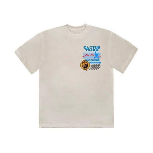 Travis Scott Cactus Trails Assn Tee - Cream