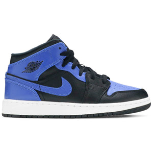 Air Jordan 1 Mid 'Black Royal' (GS)