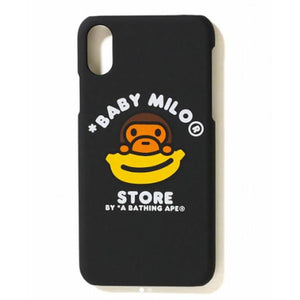 A Bathing Ape Baby Milo iPhone X Case Black