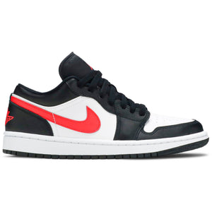 Air Jordan 1 Low 'Black Siren Red' (Women's)