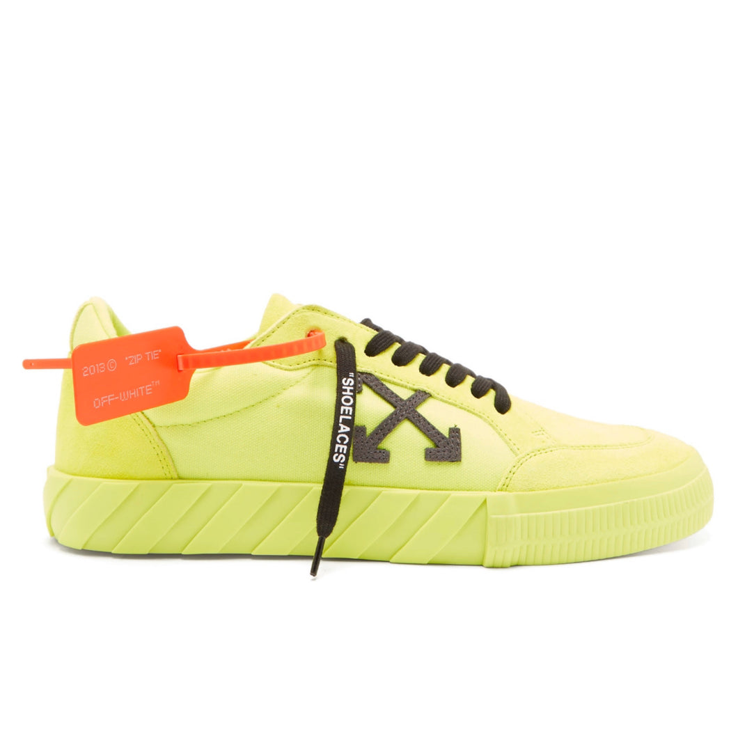 Off-White Vulcanised Canvas Trainer - Volt