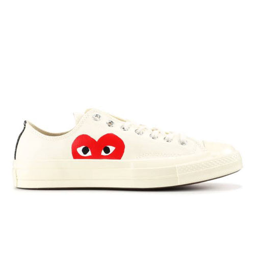 Converse x CDG Play Converse Chuck '70 Low - White