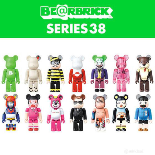 MEDICOM 100% BEARBRICK SERIES 38 BLIND BOX