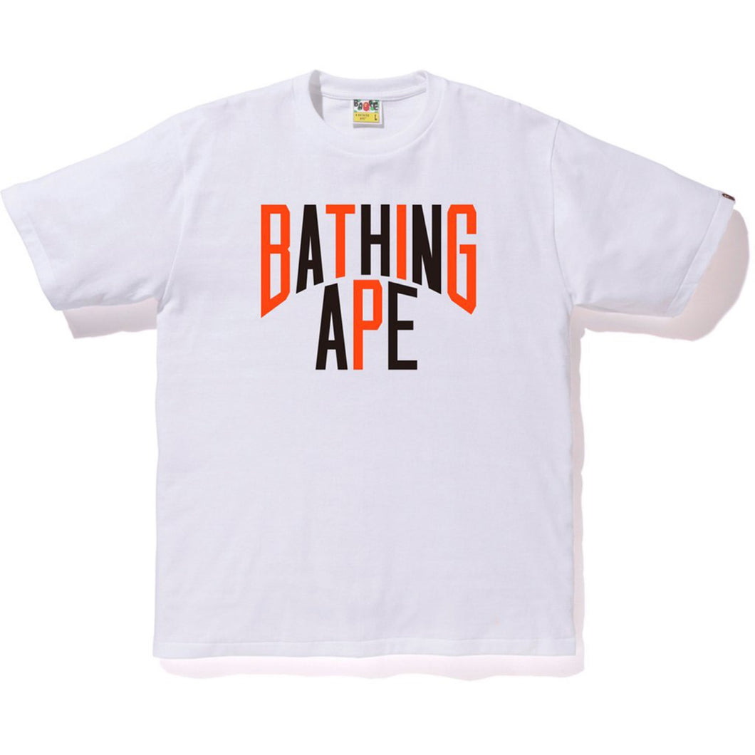 A Bathing Ape Colours NYC T-Shirt White