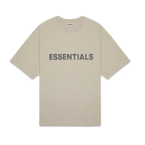 FEAR OF GOD ESSENTIALS 3D Silicon Applique Boxy T-Shirt - Olive