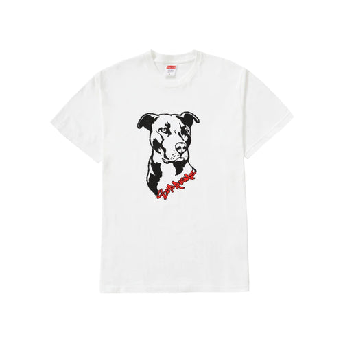 Supreme Pitbull Tee - White