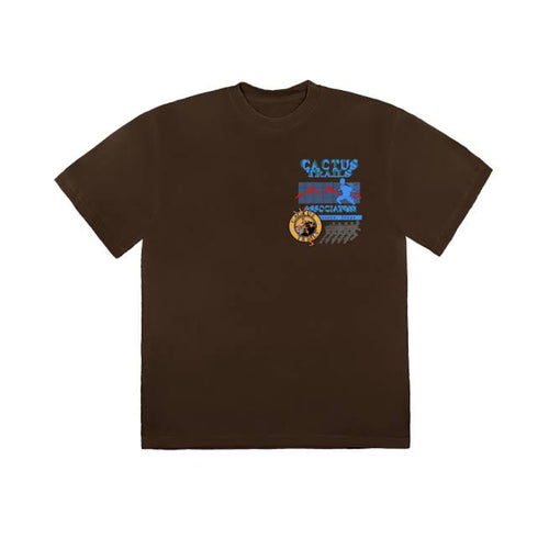 Travis Scott Cactus Trails Assn Tee - Brown