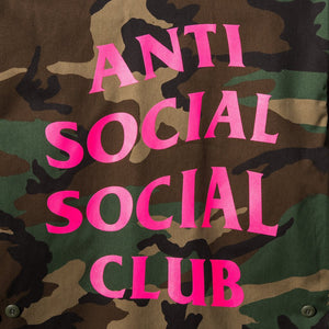 ASSC Never Change BDU Coach Jacket Camo