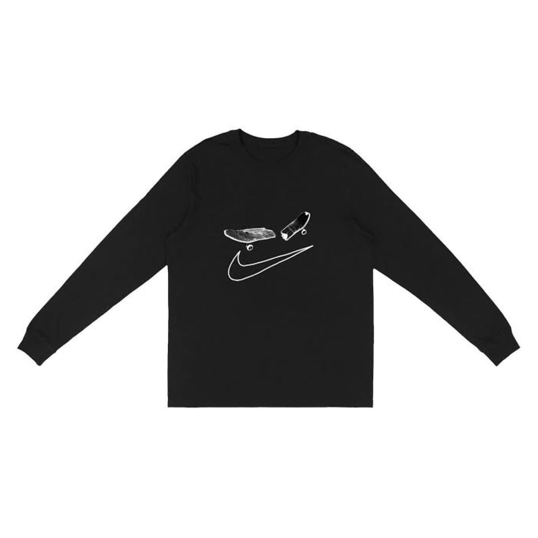 Travis Scott x Nike SB L/S Tee - Black