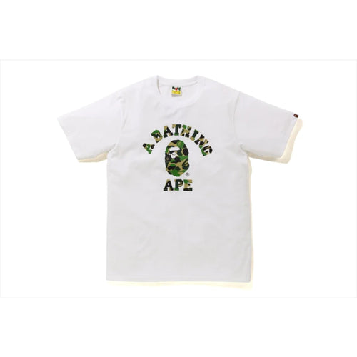 BAPE Family Bag ABC Camo T-Shirt - White