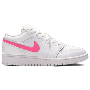 Air Jordan 1 Low GS 'White Neon' (Youth)