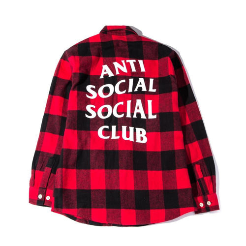 ASSC No Expectations Flannel - Red