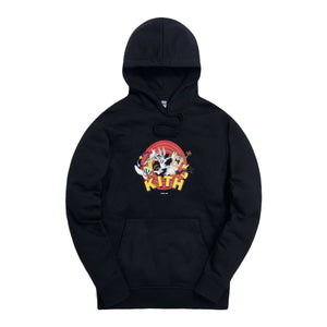 Kith x Looney Tunes That's All Folks Hoodie - Black