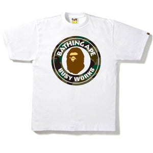A Bathing Ape Busy Works T-Shirt White