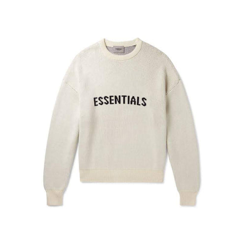 FEAR OF GOD ESSENTIALS Knit Sweater - Cream